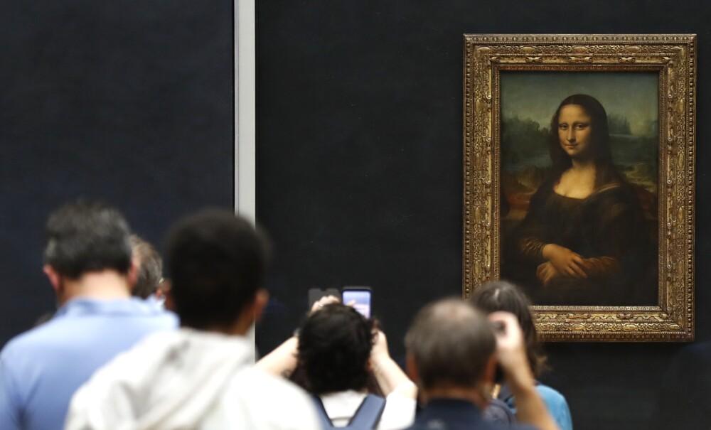 370042_Mona Lisa en Museo de Louvre - AFP
