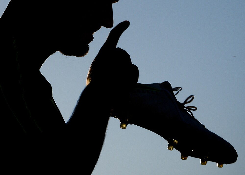 346114_BLU Radio. Paro de futbolistas // Foto: AFP, imagen de referencia