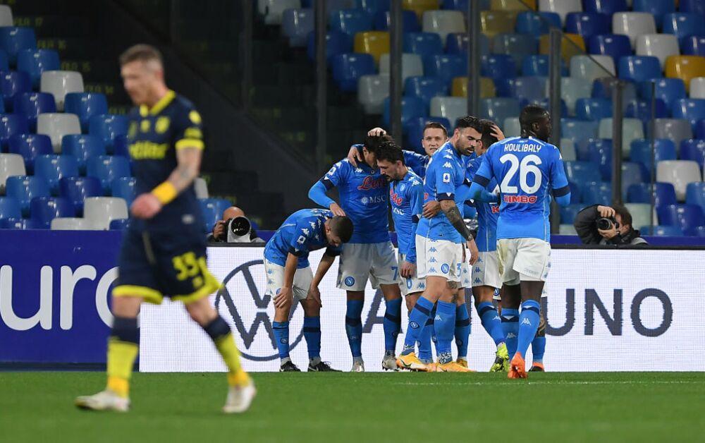 Nápoles vs Parma