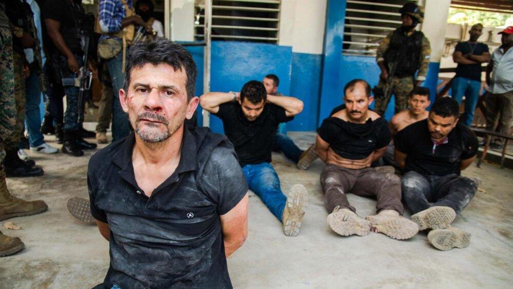 Colombianos detenidos