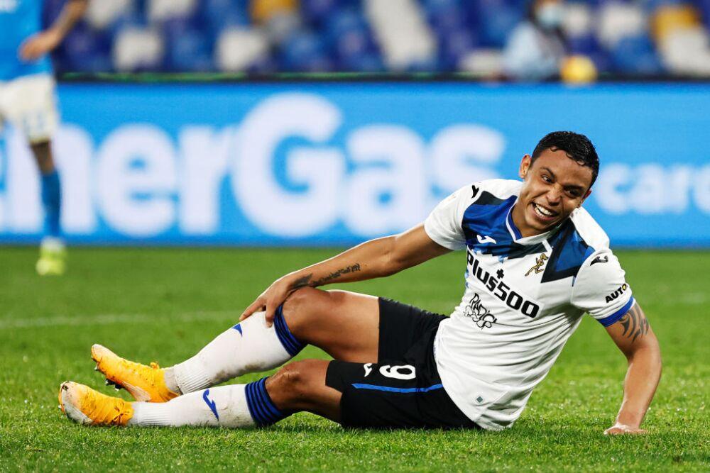 Luis Muriel, Atalanta vs Napoli