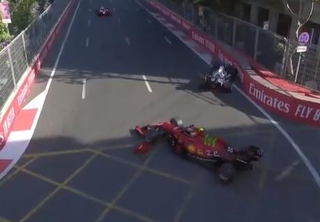 Charles Leclerc logró la 'pole position' del Gran Premio de Azerbaiyán de F1.