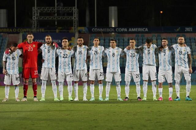 Once inicial de la selección de Argentina