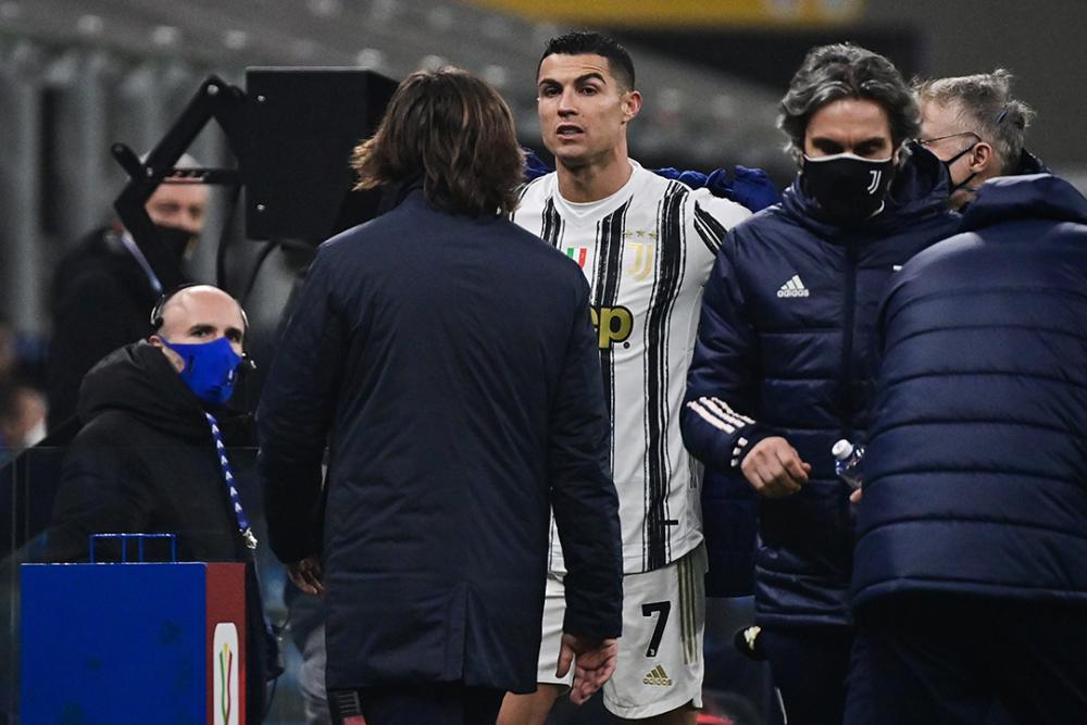 Cristiano Ronaldo, jugador de la Juventus. AFP.png