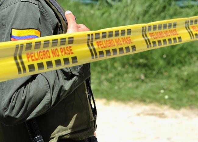 282514_BLU Radio. Cinta de seguridad asesinato / Foto: AFP