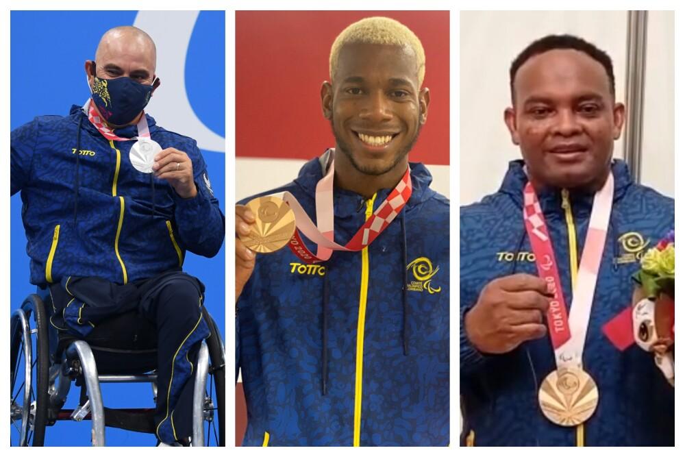 medallistas colombianos