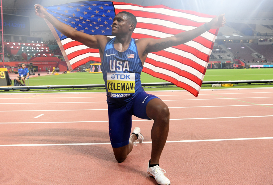 Christian Coleman se perderá los Juegos Olímpicos de Tokio.