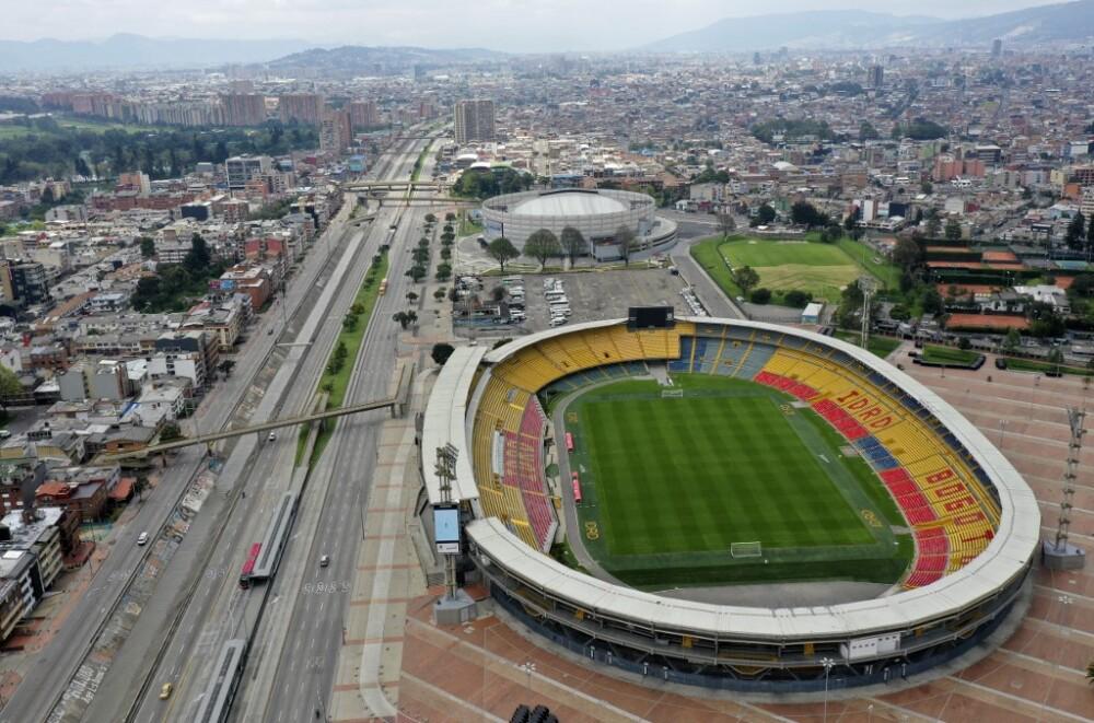 Estadio El Campín. Foto referencia AFP