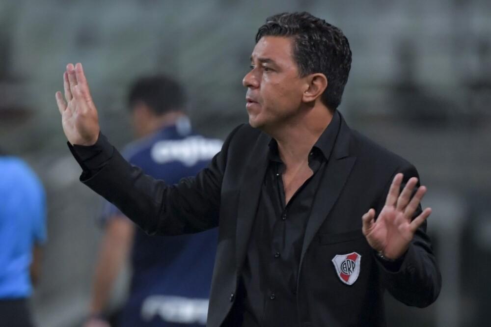 Marcelo Gallardo, entrenador River Plate