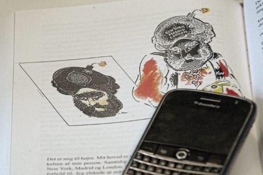 El dibujante danés Kurt Westergaard, autor de una controvertida caricatura del profeta Mahoma