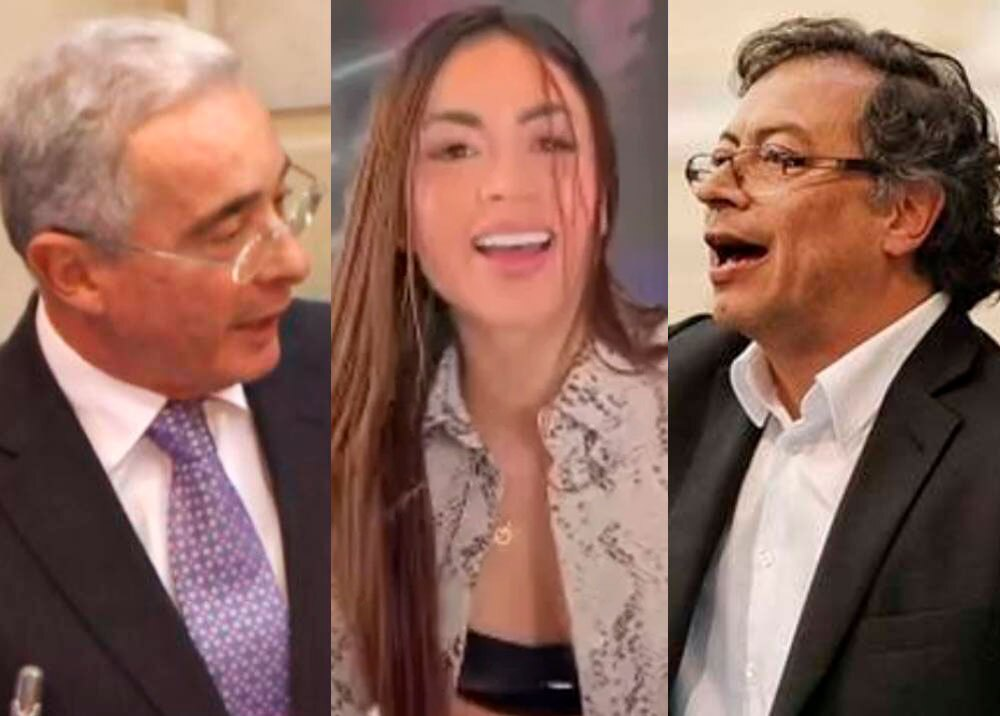 Álvaro Uribe, 'Epa Colombia' y Gustavo Petro