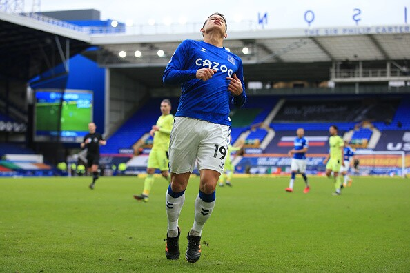 James Rodríguez, Everton vs Newcastle