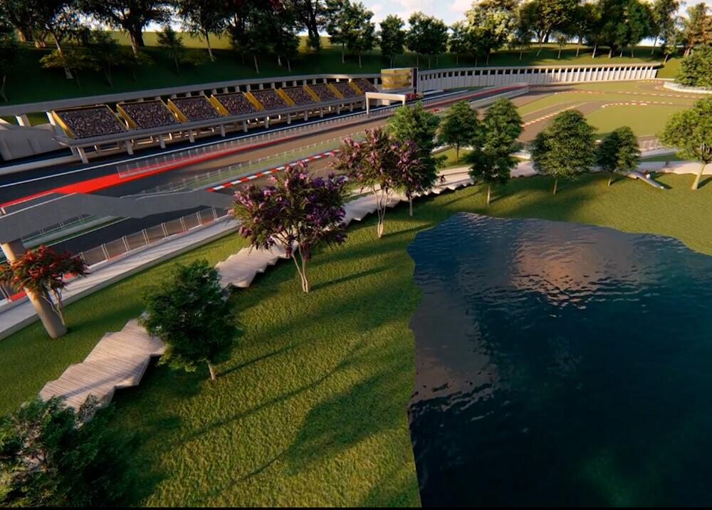 369551_Autódromo Central Park // Imagen: render Gobernación de Antioquia