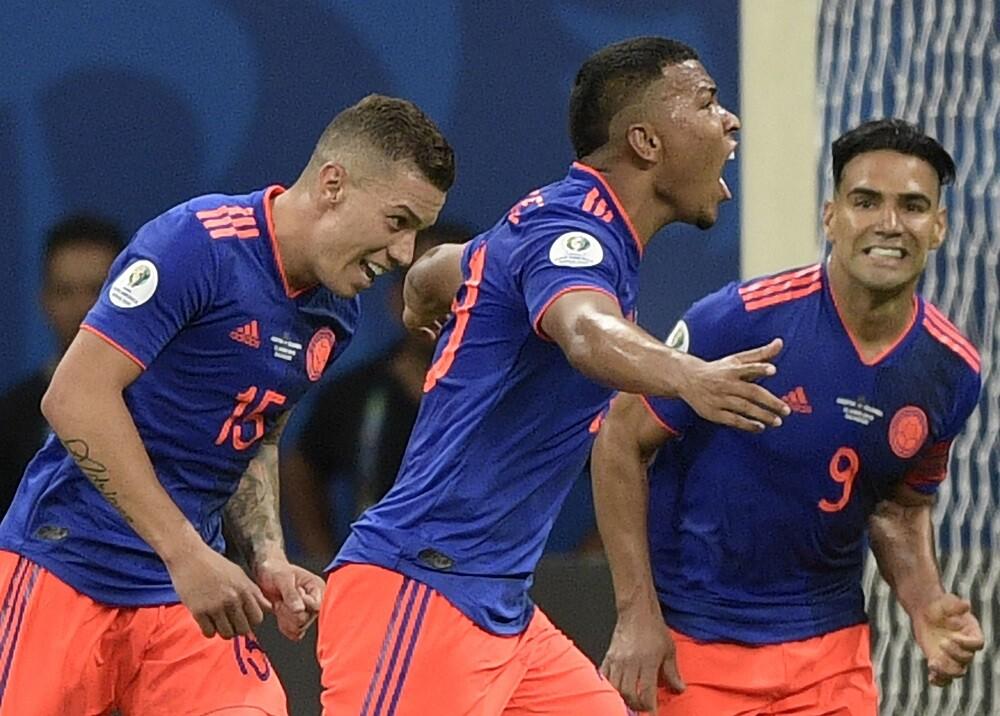 336503_BLU Radio. Colombia triunfó ante Argentina // Foto: AFP