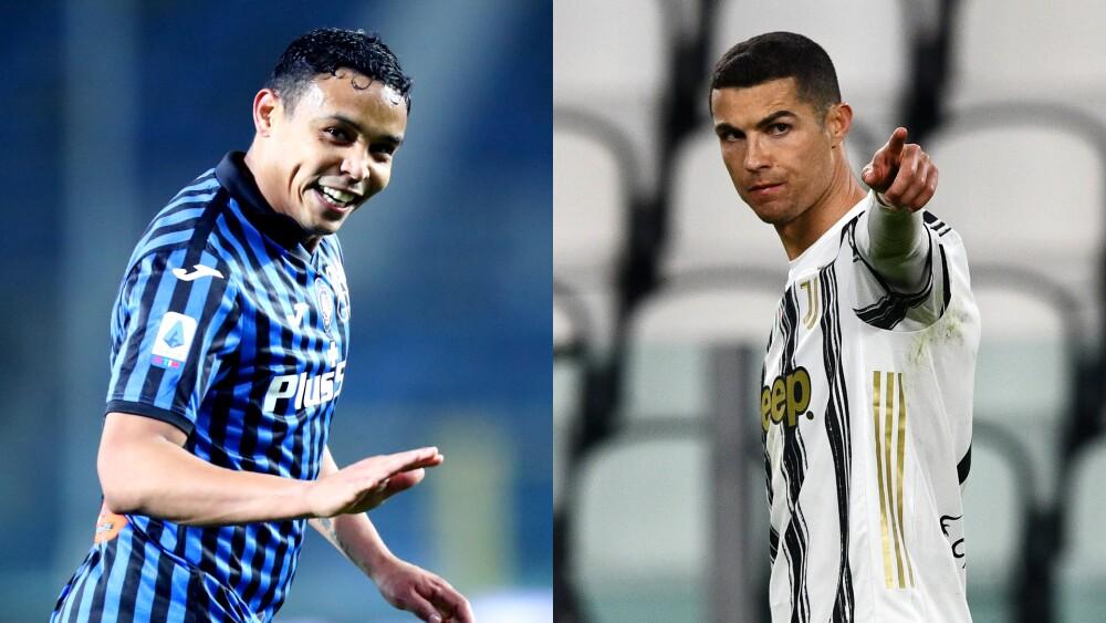 Comparación entre Luis Muriel y Cristiano Ronaldo