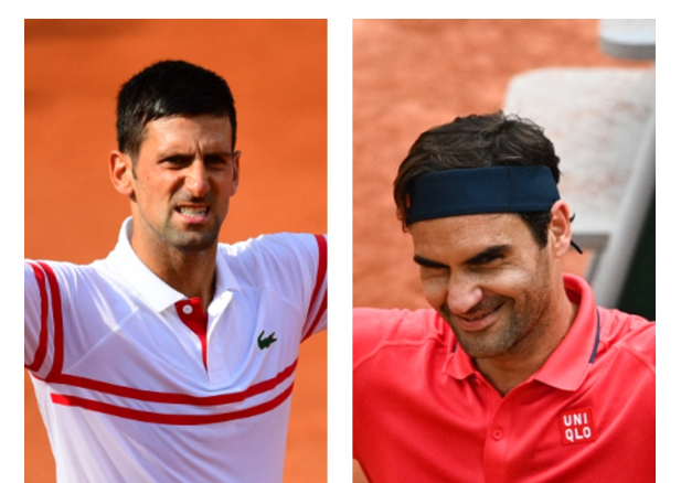 Novak Djokovic y Roger Federer clasificaron a tercera ronda de Roland Garros.
