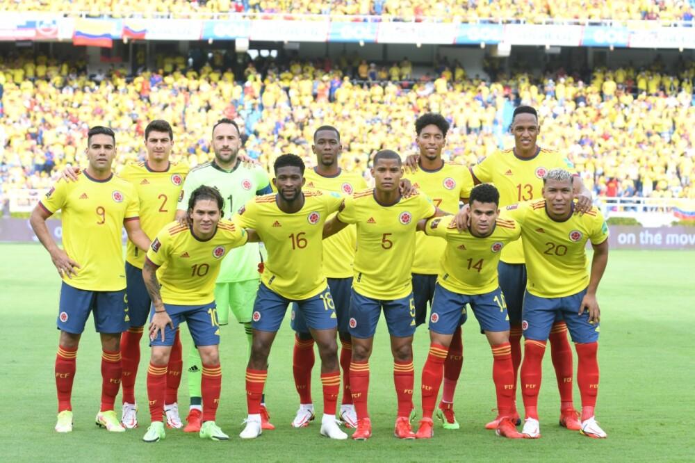Titular Selección Colombia vs Brasil