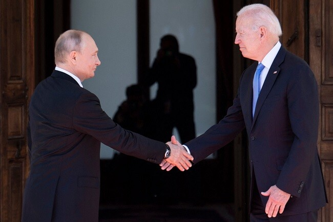 Reunión Joe Biden y Vladimir Putin