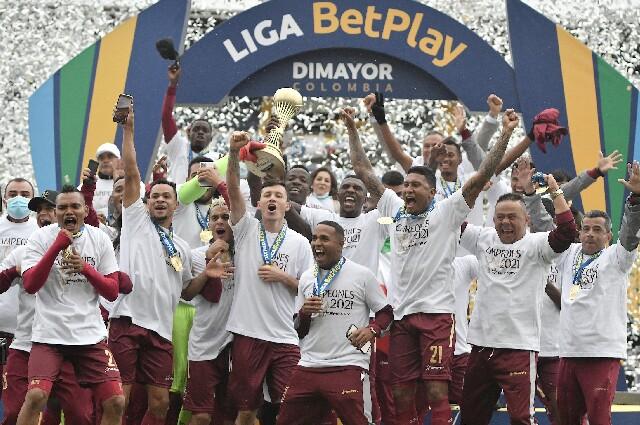Deportes Tolima, campeón de la Liga Colombiana