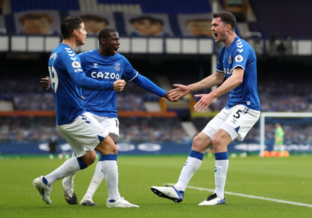 Michael Keane, Everton vs Liverpool