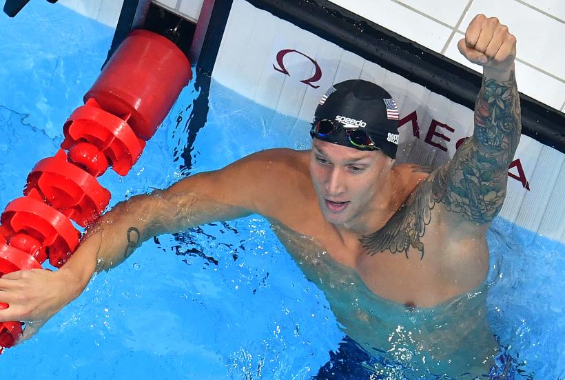 Caeleb Dressel logró su tercer oro en la natación de los Juegos Olímpicos Tokio 2020.