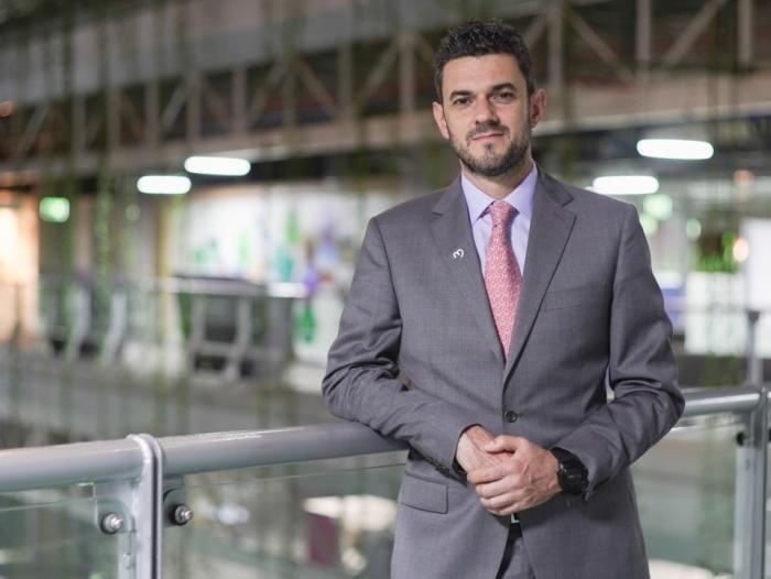 Gerente de EPM, Alejandro Calderón Chatet