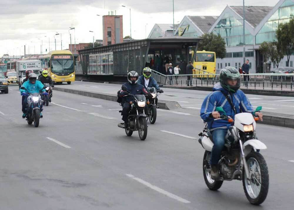 310769_Restricción parrillero hombre - Foto: Secretaría de Movilidad