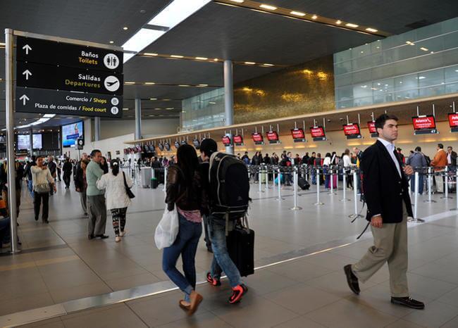 358350_Aeropuerto El Dorado // Foto: AFP