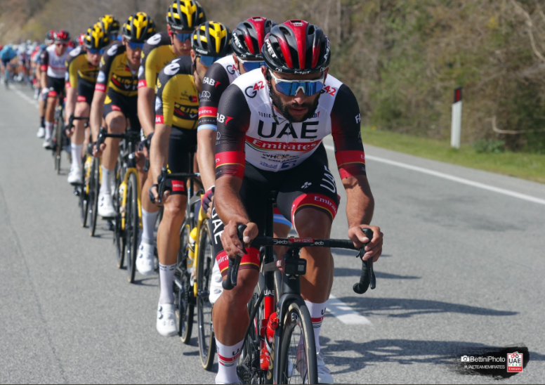 Fernando Gaviria fue séptimo en la etapa 3 del Giro de Italia 2021.