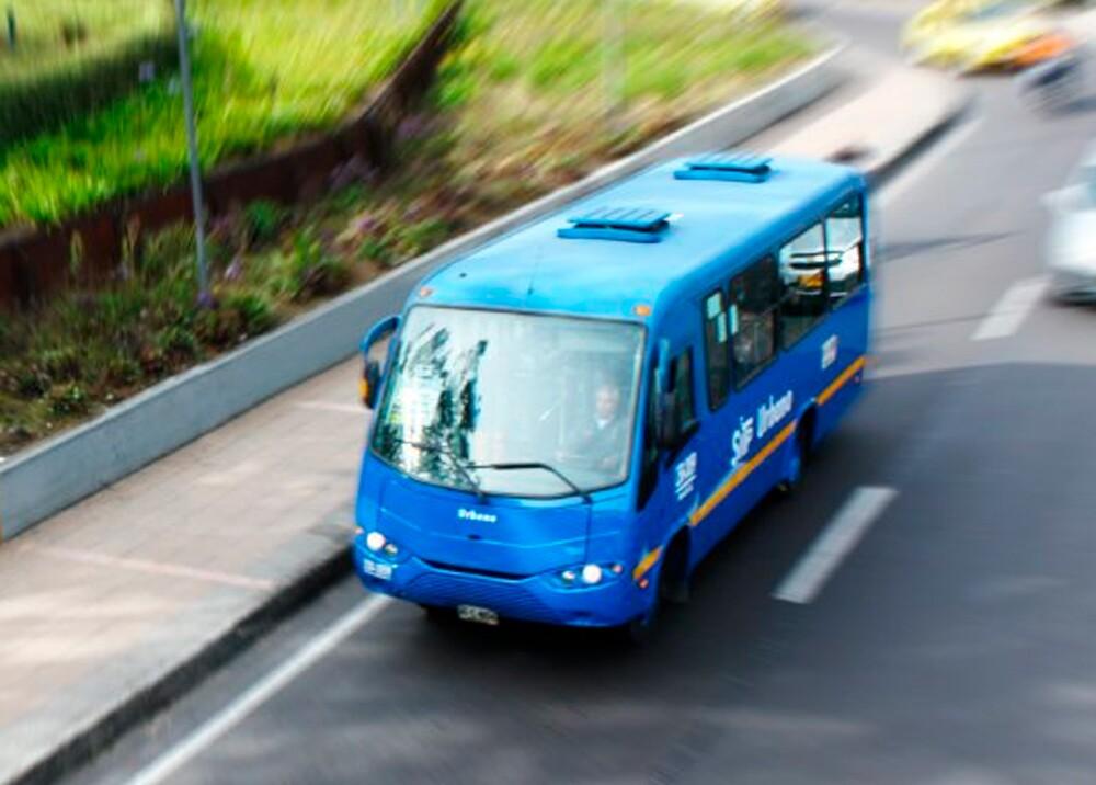 Bus del SITP // Foto: TransMilenio