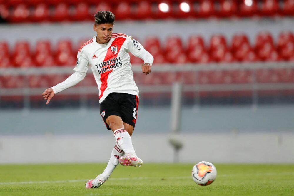 Jorge Carrascal, jugador de River Plate