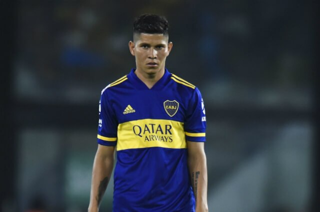 Jorman Campuzano, futbolista de Boca Juniors