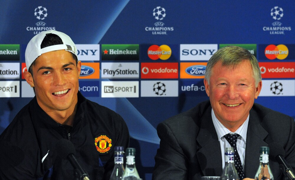 Cristiano Ronaldo Manchester United Alex Ferguson
