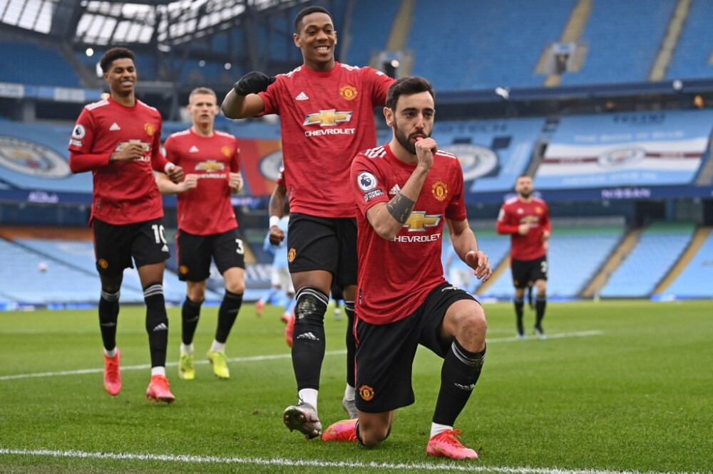 Manchester United Celebra - Manchester City