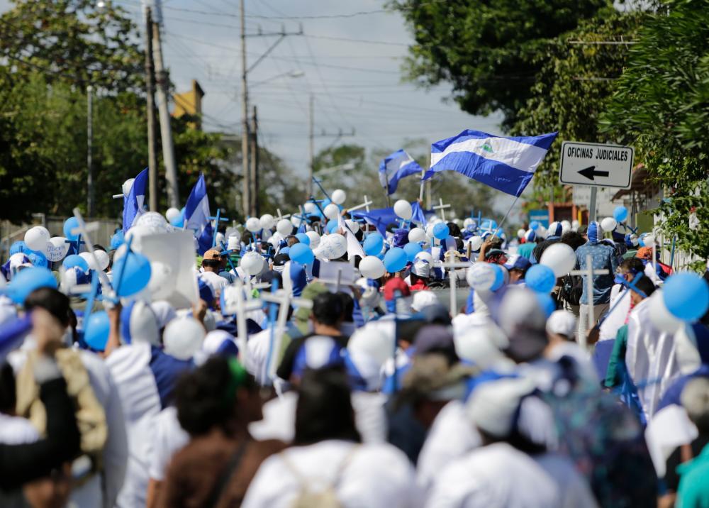 322727_Blu Radio // Protestas en Nicaragua // Foto: AFP