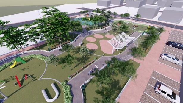 Empiezan obras para parque para mascotas en Cundinamarca