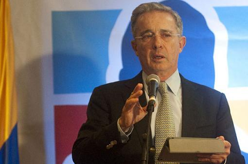 25451_Álvaro Uribe Vélez / Foto: AFP