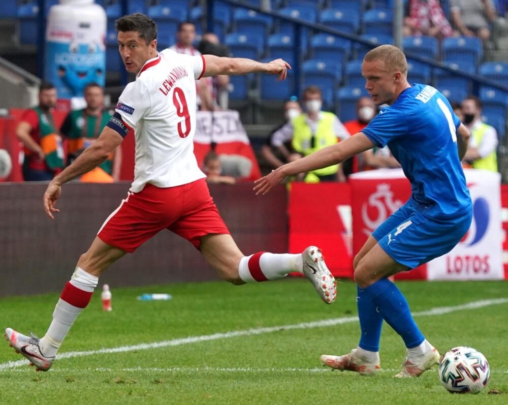 Selección Polinia - Islandia AFP.