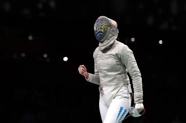 Belén Pérez, en los Juegos Olímpicos de Tokio
