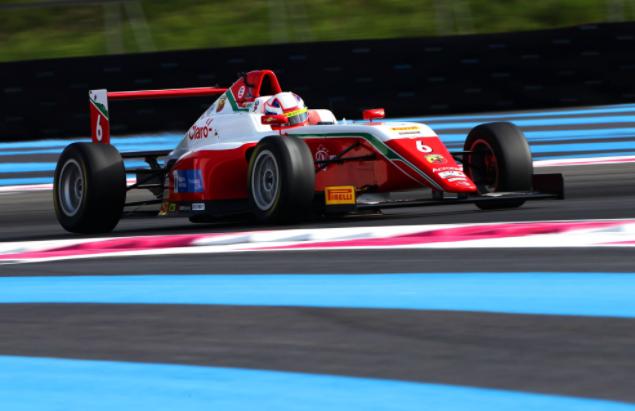 Sebastián Montoya disputará la segunda fecha de la F4 en Misano.