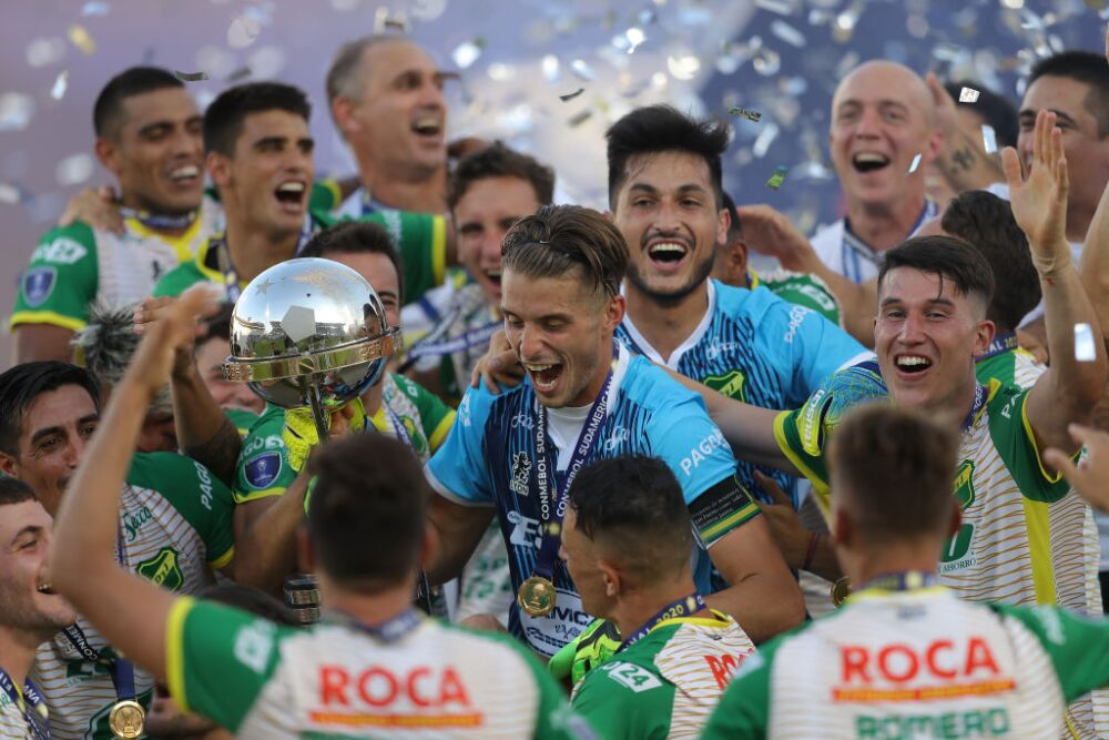 Defensa y Justicia, campeón Sudamericana