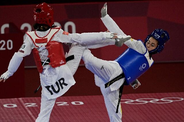 Andrea Ramírez, en los Juegos Olímpicos de Tokio
