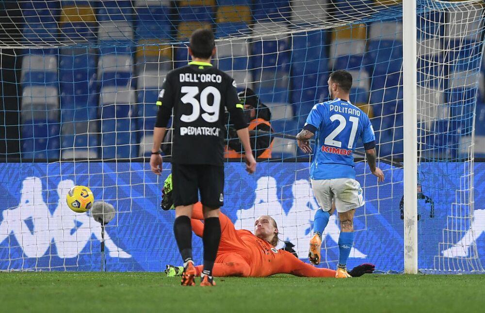 SSC Napoli v Spezia Calcio - Coppa Italia