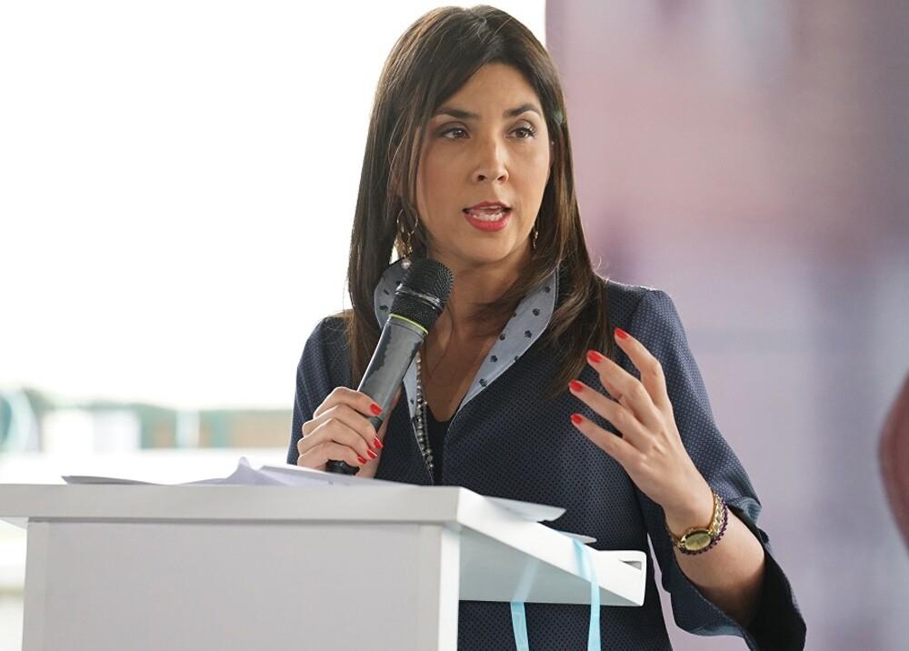 317285_Blu Radio // Ministra Maria Victoria Angulo // Foto: MinEducación
