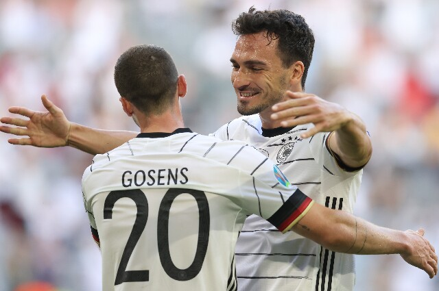 Gol de Gosens en Portugal vs. Alemania