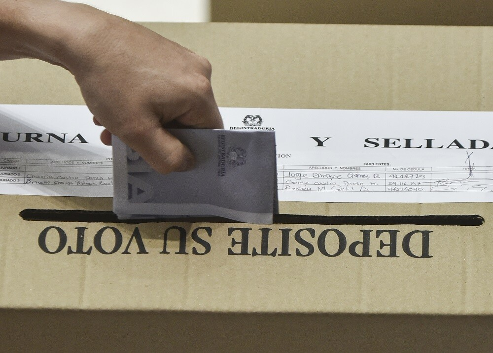 307387_BLU Radio. Elecciones en Colombia / Foto: AFP.
