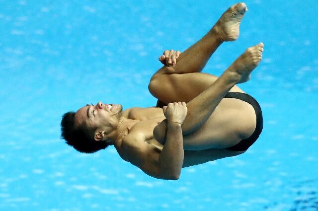 Sebastián Morales, en los Juegos Olímpicos