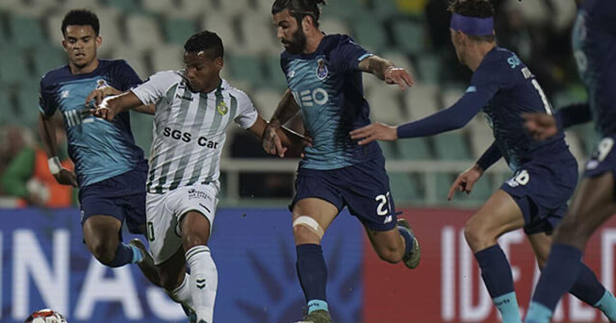 Mateus Uribe y Luis Díaz, titulares con el Porto para el duelo frente al Portimonense, en Portugal