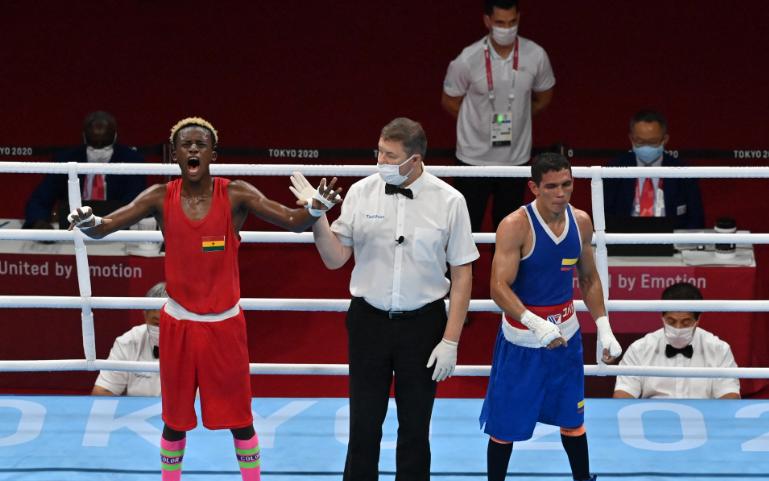 Céiber Ávila fue eliminado en cuartos de final de los Juegos Olímpicos Tokio 2020.