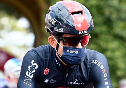 Michal Kwiatkowski sufrió una fractura de costilla en una carrera en Italia.